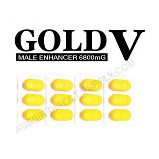 Image of Gold V pills in packaging