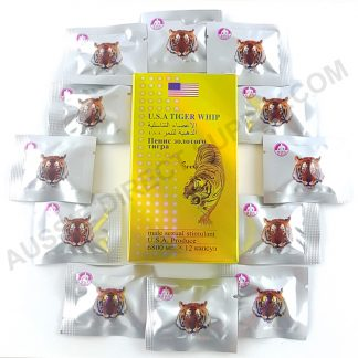 Image of USA Tiger whip Packets & Box