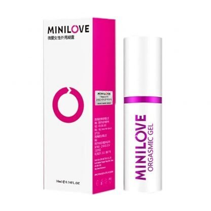 Image of Minilove womens orgasmic gel lubricant