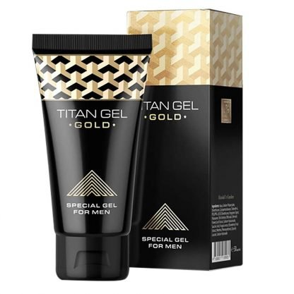 Image of Titan Gel gold unboxed