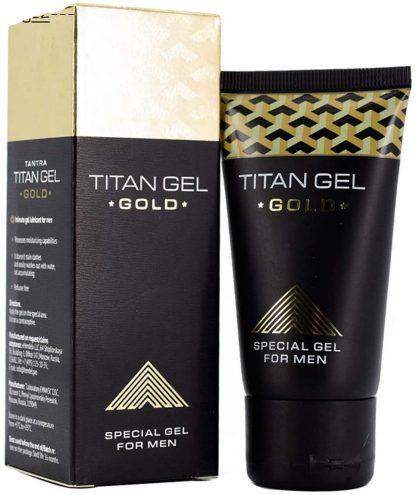 Image of titan gel gold penis enlargement cream